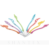 8 Pcs Plastic Handle Hairpin Shape Crochet Hook Packed in PVC Case DIY Sewing And Weaving Craft Tools