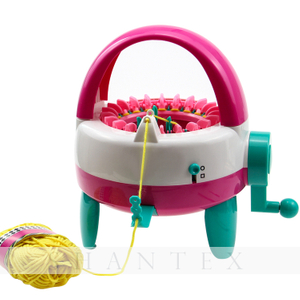 High Quality Girls Creative Handcraft Braiding Toy Knitting Machine Set