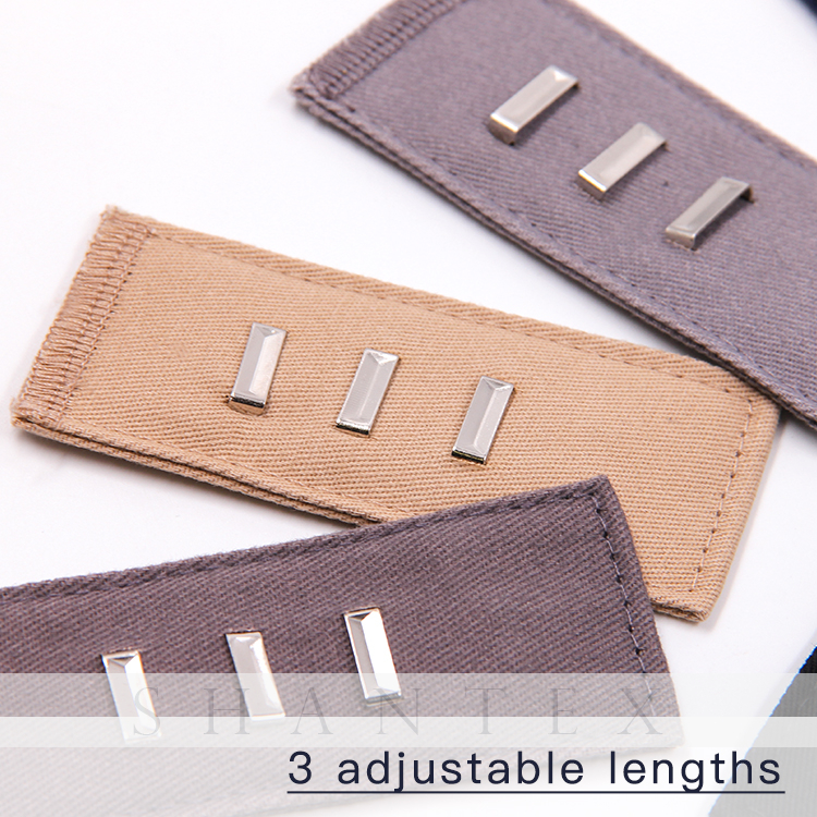 Waist Extenders for Women Elastic Pants Waist Extender Strong Adjustable Pant Button Extenders by Comfy Clothiers