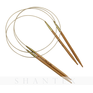 Wholesale Comfort Safe Needlework Tools Metal Copper Joint Bamboo Circular Knitting Needle With Plastic Wire