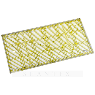 Plastic Tailor Parallel Metric Square Quilting 30 Cm Scale Acrylic Ruler